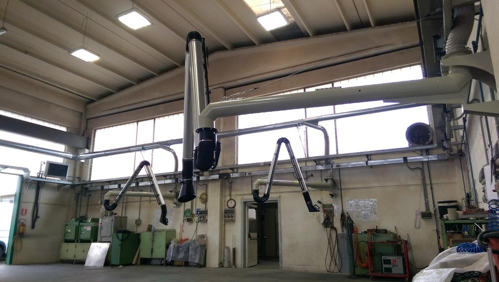 Impianti di filtrazione su smerigliatura sbavatura sabbiatura - 5